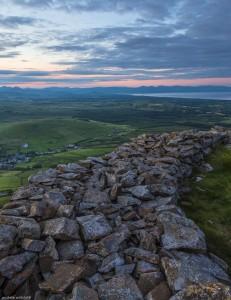 Tre'r Ceiri outer wall, Lleyn Peninsular.