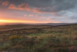Sunrise above Porlock, Exmoor