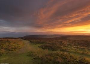 Sunrise on Dunkery Beacon, Exmoor