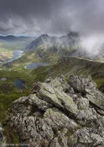 It is a steep climb, but anyone with reasonable fitness could do it. Provided the cloud and mist stays away, probably the bests views in Snowdonia.
